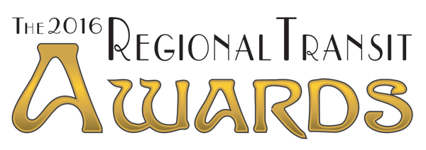 Buy Your Tickets now for TRU's 2016 Regional Transit Awards!