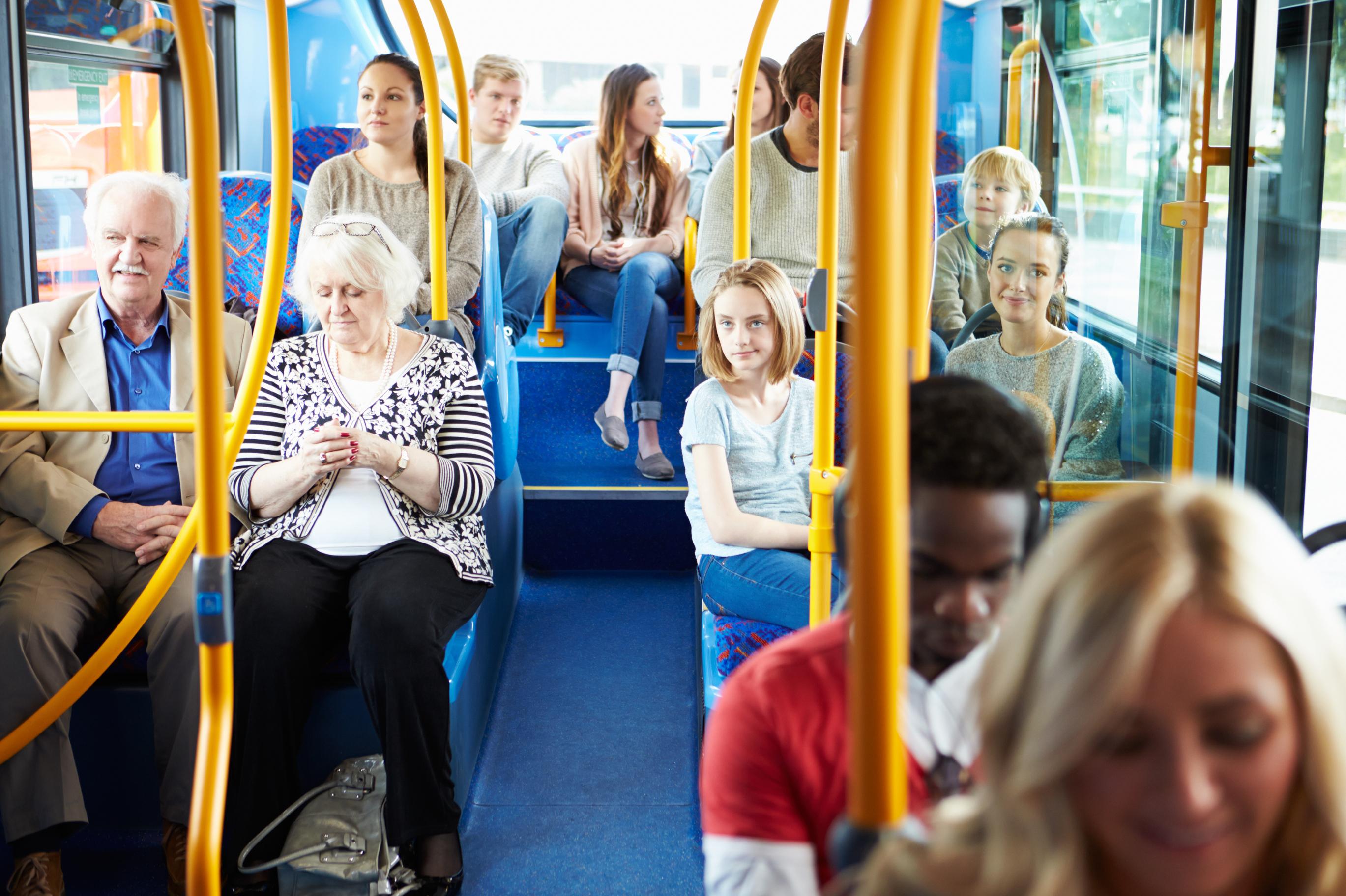 Увидела в автобусе онлайн 21 фотография