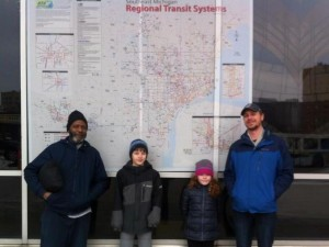 The RTA has started improving transit coordination by funding a Regional Transit Map that includes SMART, DDOT, the People Mover, and AAATA routes.