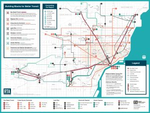 RTA Master Transit Plan map