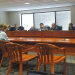 Kristen testifying before the Michigan House Transportation Committee on the struggles of people with disabilities living in opt-out communities