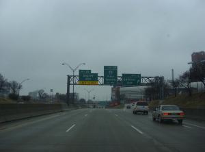 i-75 through Detroit