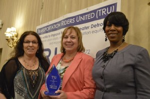 Staff of myride2 with their 2014 Regional Transit Award