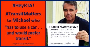 HeyRTA TM would prefer transit